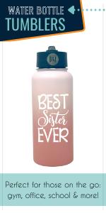 water bottle stainless steel mom blush