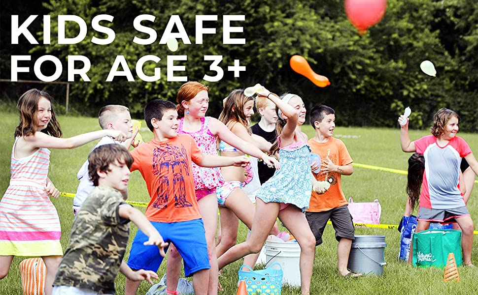 Safe for kids in age 3 or above