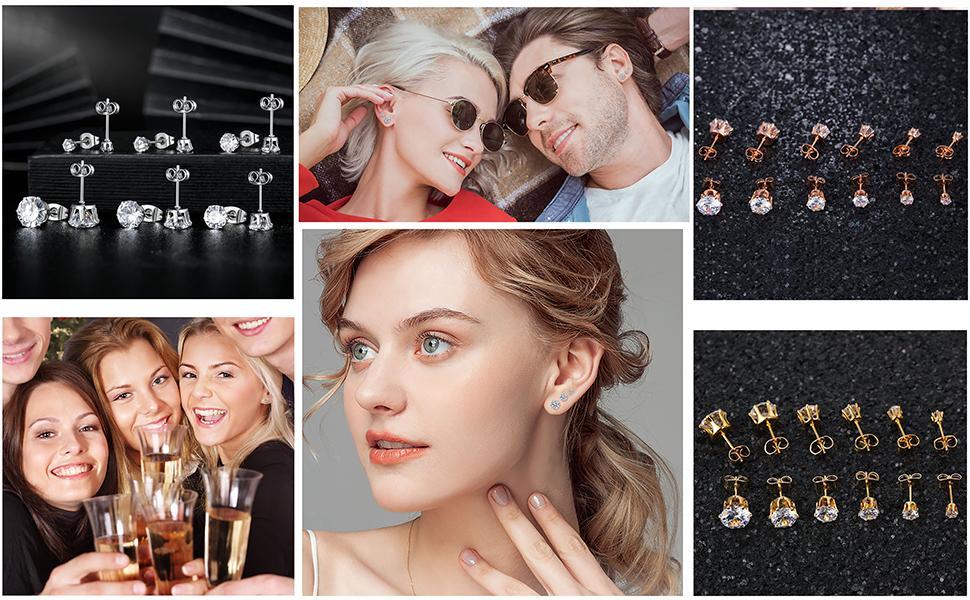 earrings,strd earrings, earrings for women,hypoallergenic earrings
