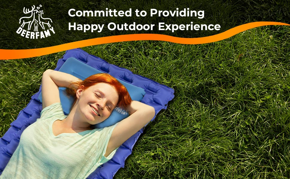 DEERFAMY Sleeping Pad for Camping