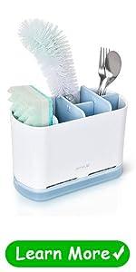 kitchen sinkware caddy sponge holder