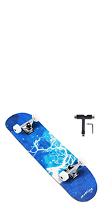 skateboard for kids ages 6-12 beginners