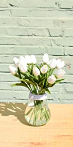 artifical tulips real touch nearly natural