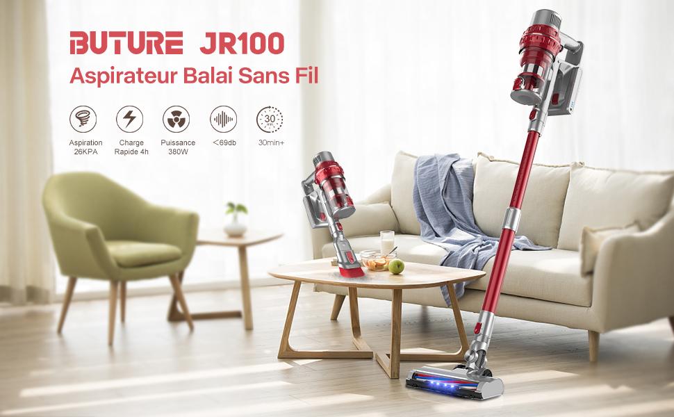 JR100 aspirateur sans fil