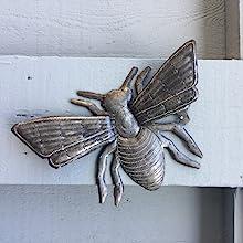 Metal Garden Bee Sculpture