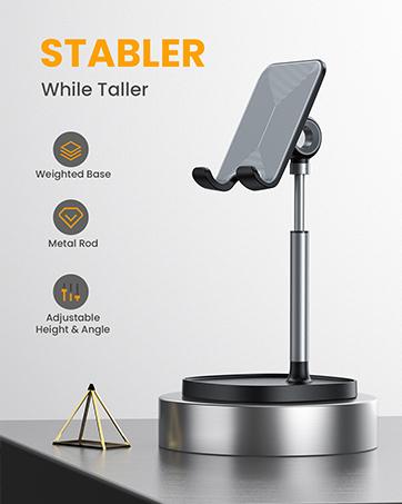 phone holder stable for desk