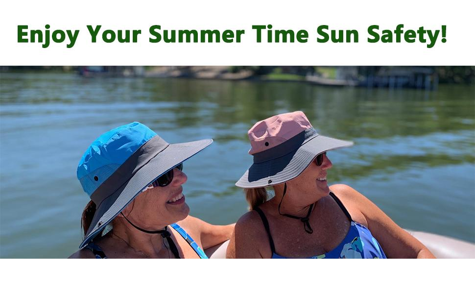 Enjoy Your Summer Time Sun Safety!