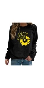 Casual Long Sleeve Pullover Tops