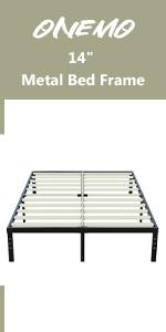14 metal bed frame