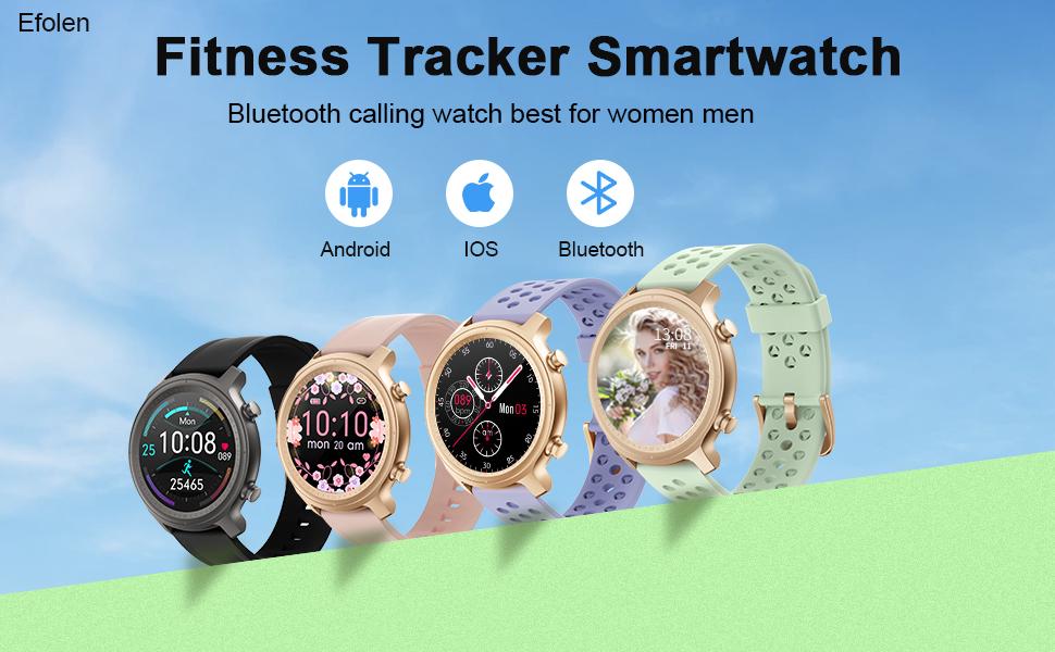 fitness tracker smartwatch for women men