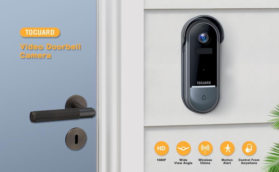 TOGUARD Video Doorbell Camera