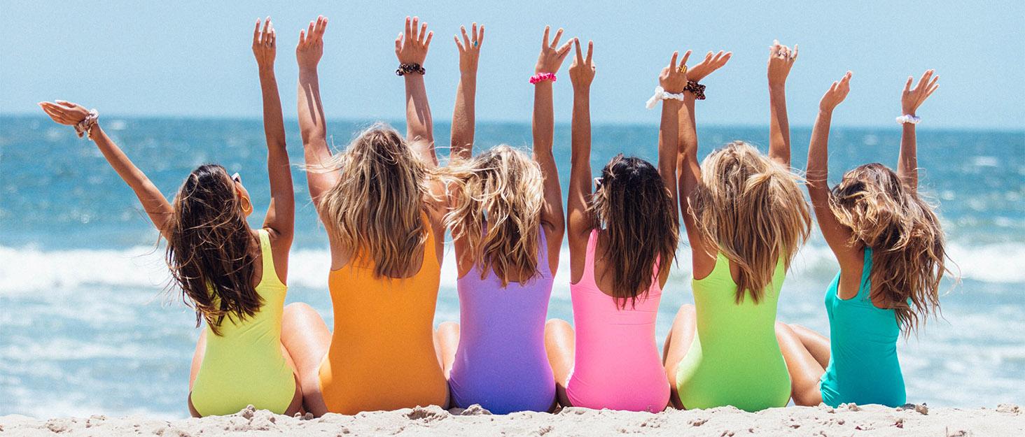 beach flip flops for women