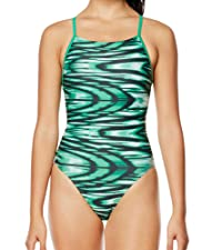 Speedo Women's Swimsuit One Piece ProLT Cross Back Printed Adult Team Colors