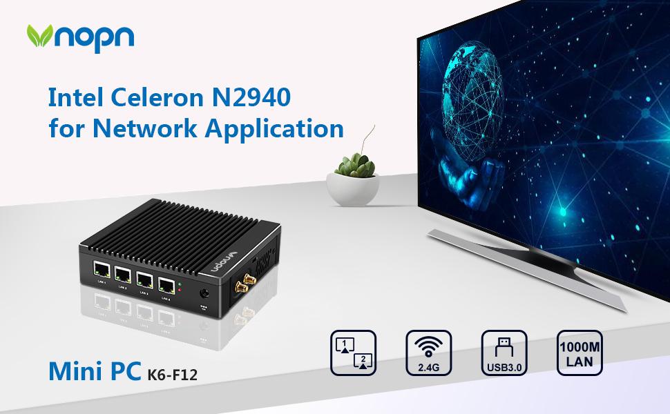 4 lan mini computer for network application