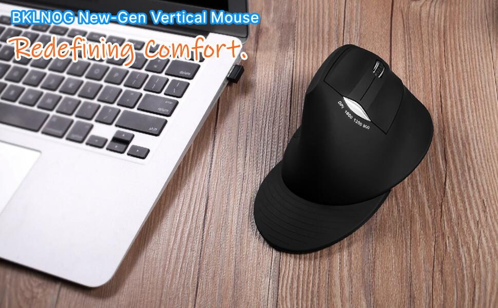 BKLNOG wirless ergonomic mouse