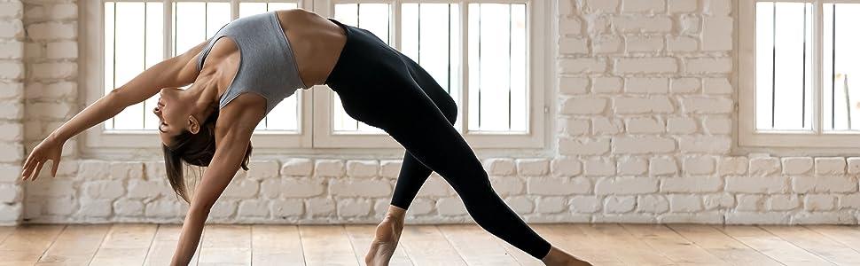ODODOS Women's High Waist Yoga Leggings, Tummy Control Yoga Leggings with Inner Pocket