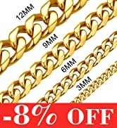 cuban gold chain necklace