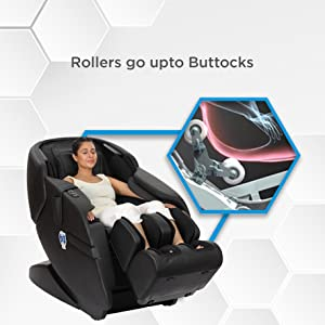 massage chair zero gravity with rollers