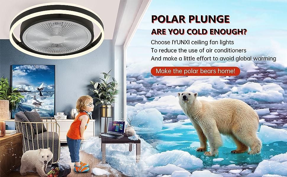 Environmental ceiling fan