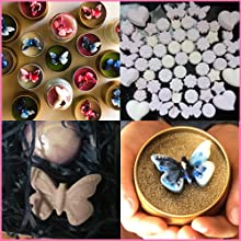 Waxmelt Candle soap resin decoration butterfly shapes silicone mold gift diy handmade