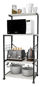 kitchen baker rack