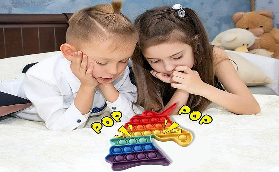 2 Pack Pop Fidget Toys