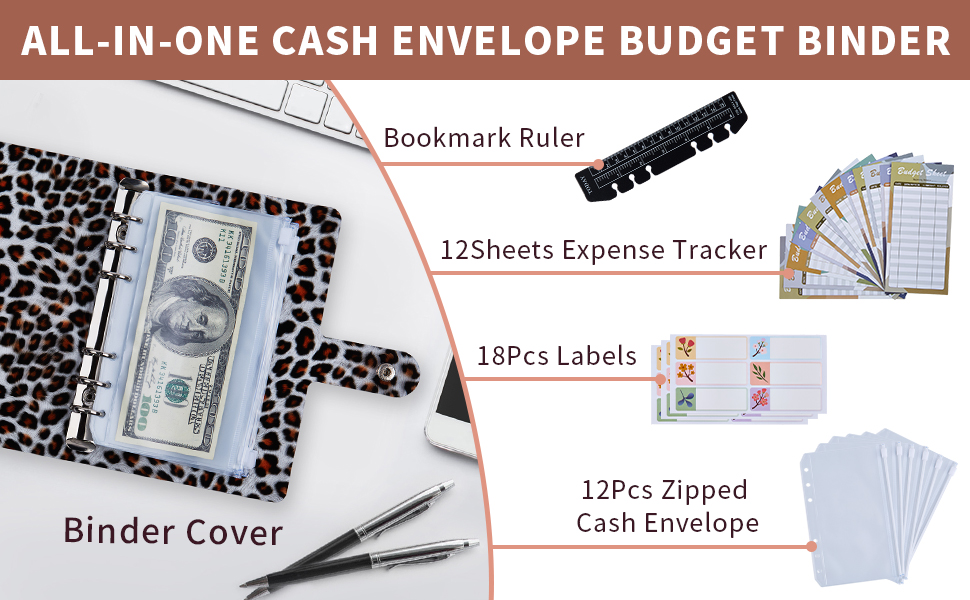 budget planner with cash envelopes