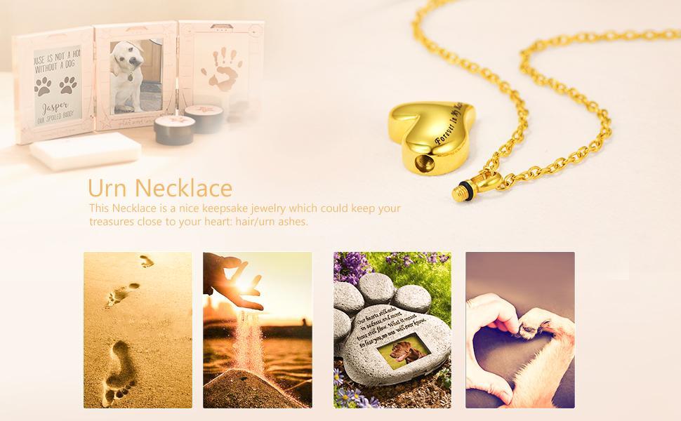Custom cremation jewelry