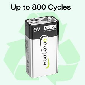 Up to 800 Cycles