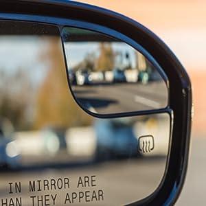 Right Side 2013 2014 2015 2016 2017 2018 2019 2020 Fusion SE Hybrid Sedan 4Door heated mirror glass