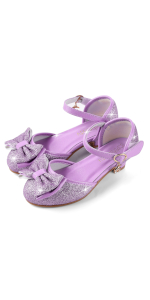 purple princess shoe