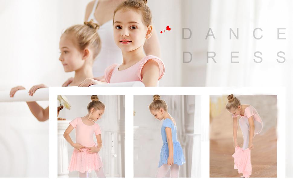 Girls dance dress