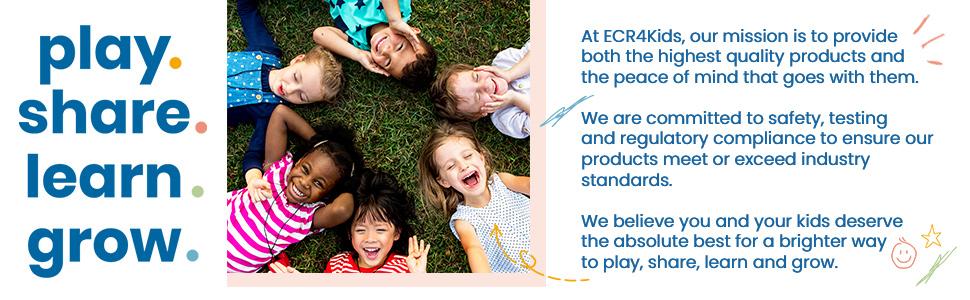 ecr4kids elr-12770 softzone mirror cube gross motor play sensory toy nursery daycare toddler baby