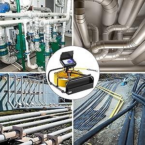 sewer snake camera