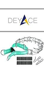 Teal Prong Collar