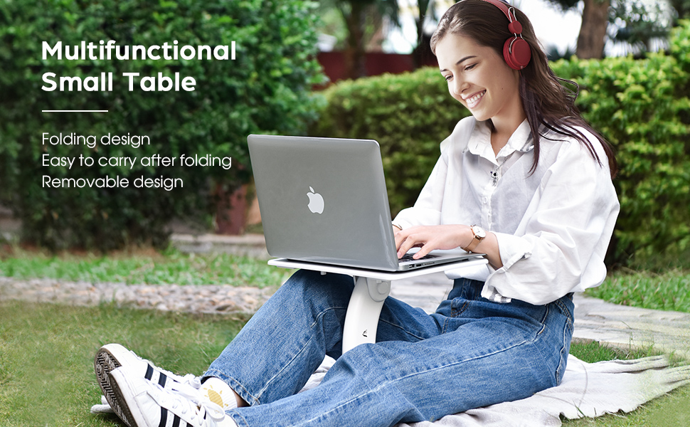 Multifunctional small table amp; Portable desk for any occasion