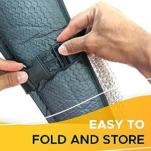 fold the aluminum sunshade accordion sunshade