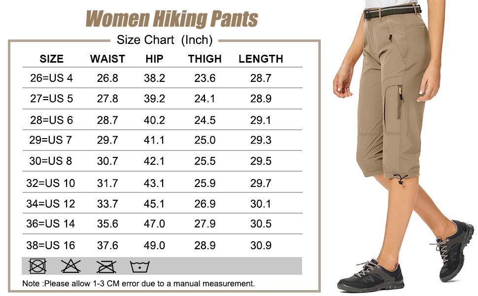 Women's Lightweight Hiking Shorts Quick Dry Cargo Shorts  Summer Travel Fishing Shorts Outdoor