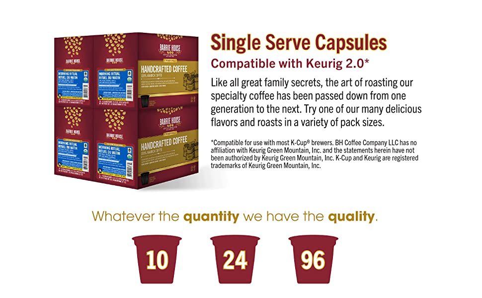 Try one of our many delicious flavors and roast in a variety of pack sizes.