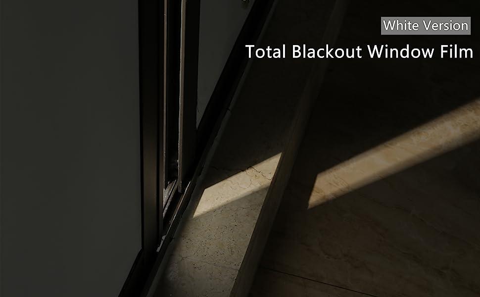 room darkening window film
