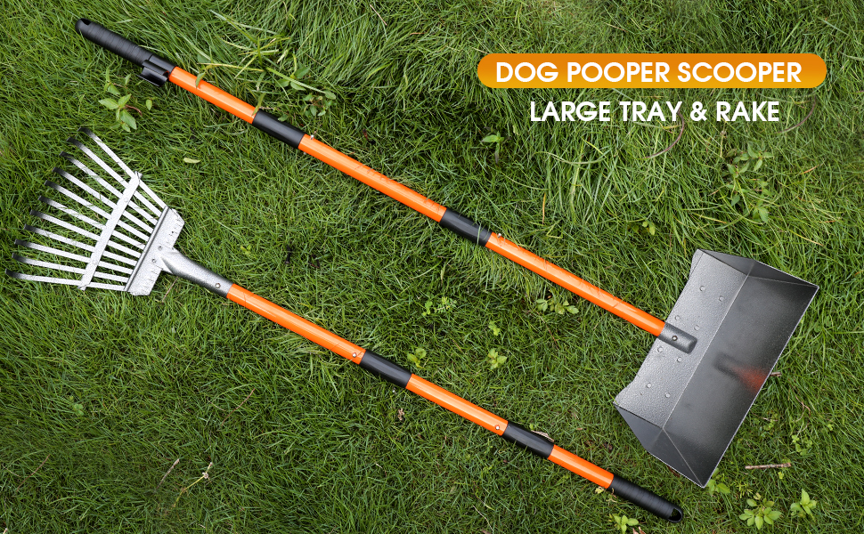 dog pooper scooper can holds a lot more poops, no more going back and forth