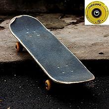 old skateboard, old friends