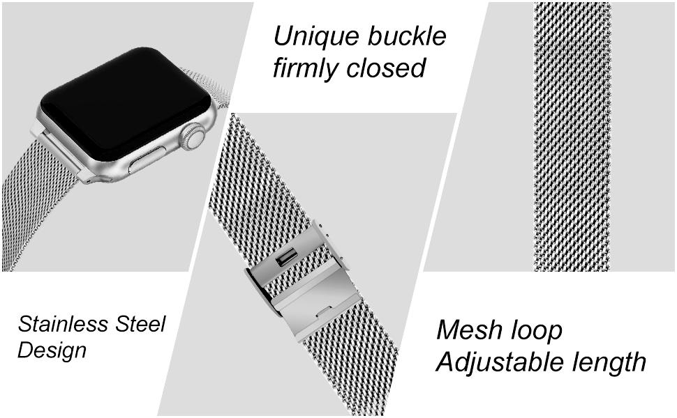 apple watch band 38mm 40mm 42mm 44mm for watch SE watch Series 6/5/4/3/2/1