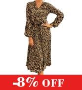 KIRUNDO Women Long Sleeve Tie Neck Ruffle Floral Print Boho Dresses Casual Loose Pleated Swing ...