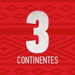 3 Continentes