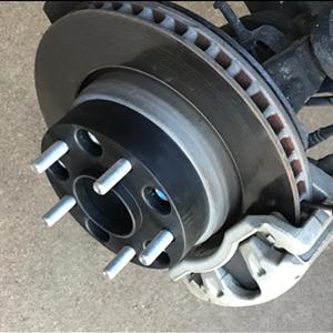 Wheel Spacers Installation Procedure Step 2