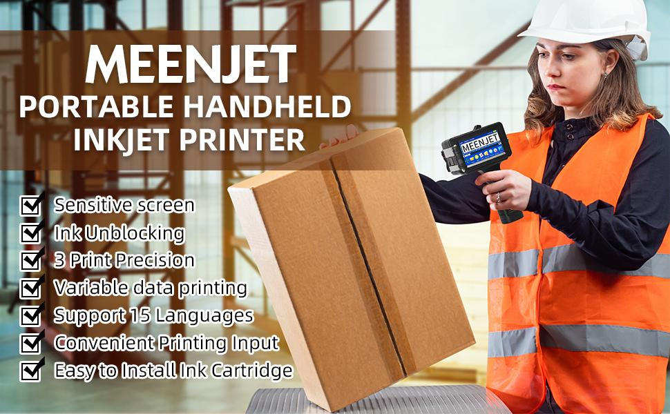 Meenjet 1580P1 Imprimante portable