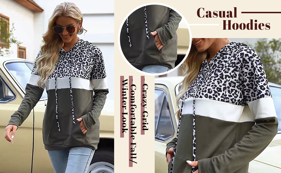 women casual hoodies