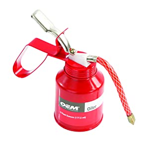oil squirter; oil cans with spout; oil can flexible spout; heavy duty oil can