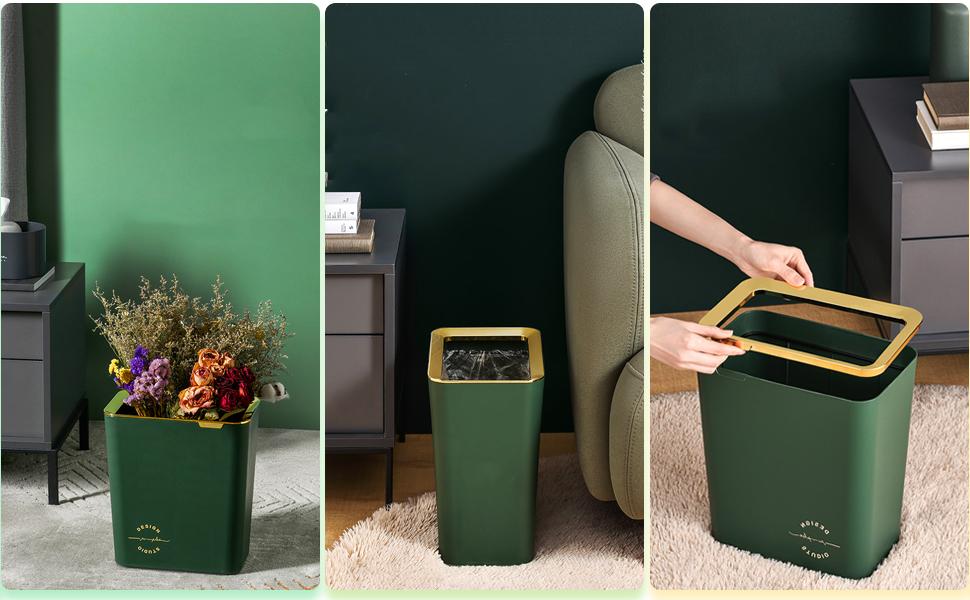 Plastic Wastebasket